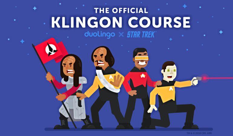 Ya puedes aprender el lenguaje klingon, popularizado por Star Trek