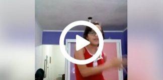 Madre bailando